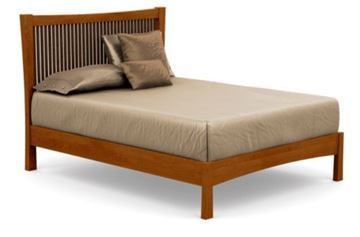 Picture of Copeland Furniture Berkeley Bed in Cherry 23