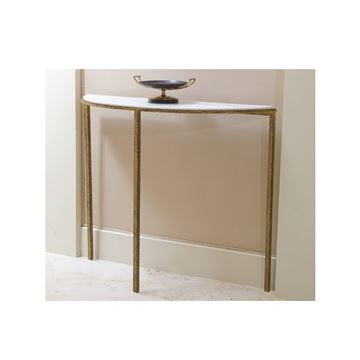Picture of Global Views Hammered Gold Console