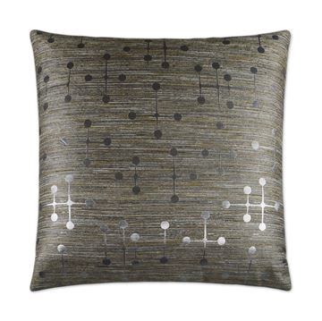 Picture of DV KAP MORSE PILLOW - SILVER