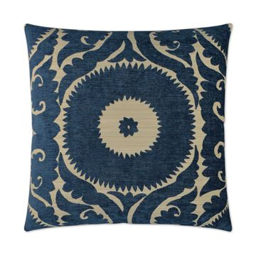 Picture of DV KAP NEBO PILLOW - INDIGO