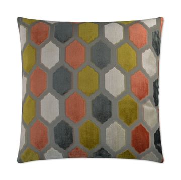Picture of DV KAP MALLORCA PILLOW - SORBET