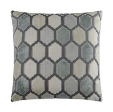Picture of DV KAP MALLORCA PILLOW - ZINC