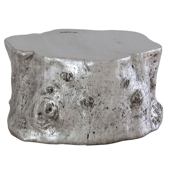 Picture of Phillips Collection Log Coffee Table Silver Leaf