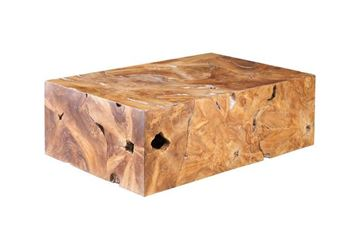 Picture of Phillips Collection Teak Slice Coffee Table Rectangular