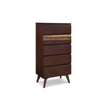 Picture of Greenington Azara Tall Chest In Sable Finish