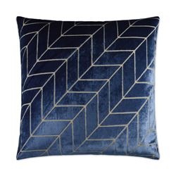 Picture of DV KAP VILLA PILLOW - BLUE - SET OF 3